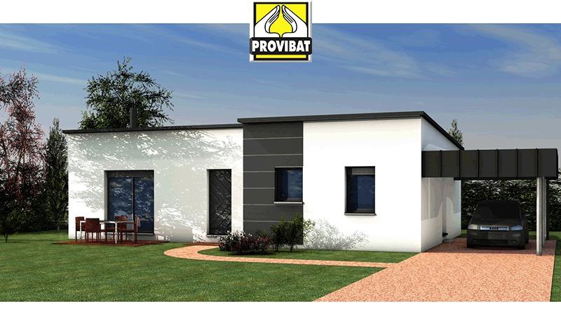 Maisons + Terrains du constructeur PROVIBAT • 95 m² • MONTAGNAC