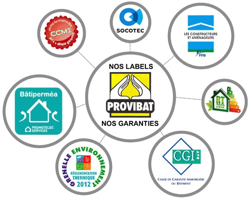 Maisons + Terrains du constructeur PROVIBAT • 95 m² • RESTINCLIERES