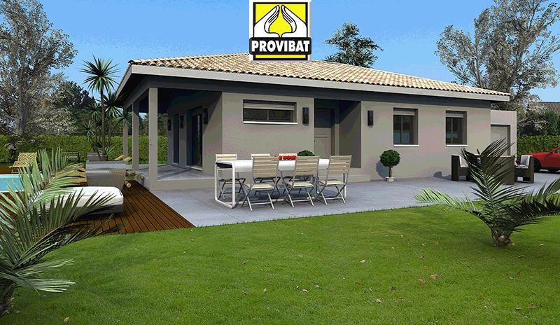 Maisons + Terrains du constructeur PROVIBAT • 75 m² • SAINT AUNES