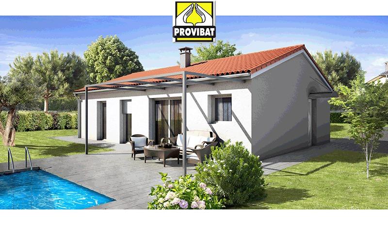 Maisons + Terrains du constructeur PROVIBAT • 90 m² • SAINT AUNES