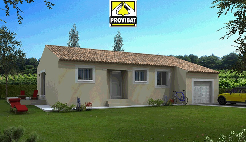 Maisons + Terrains du constructeur PROVIBAT • 85 m² • SAINT AUNES