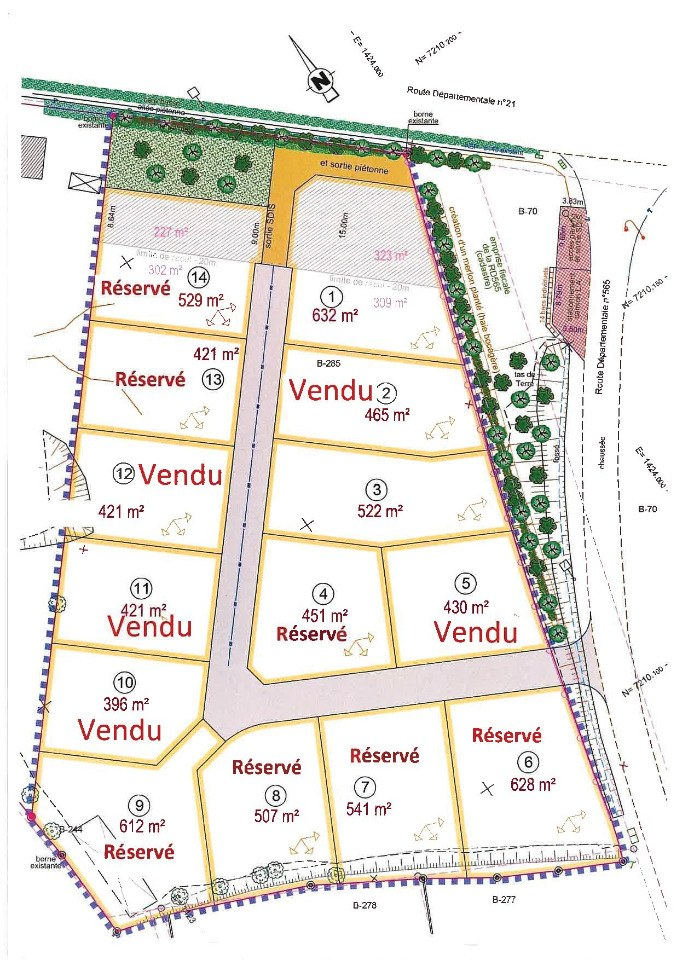 Terrains du constructeur MAISONS FRANCE CONFORT • 522 m² • FORCE