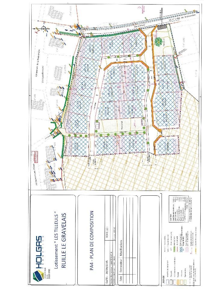 Terrains du constructeur MAISONS FRANCE CONFORT • 582 m² • RUILLE LE GRAVELAIS