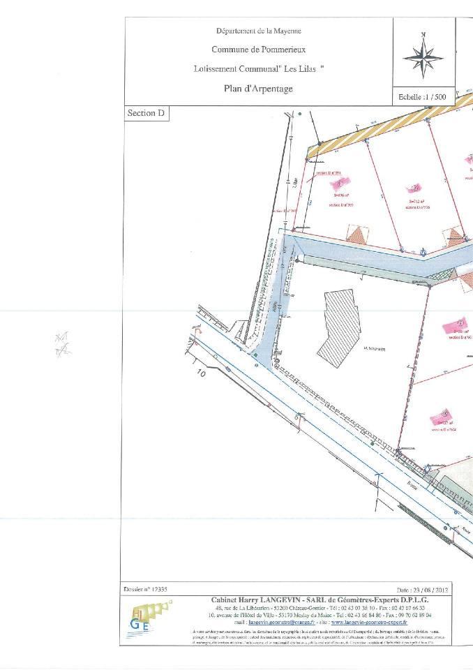 Terrains du constructeur MAISONS FRANCE CONFORT • 712 m² • POMMERIEUX