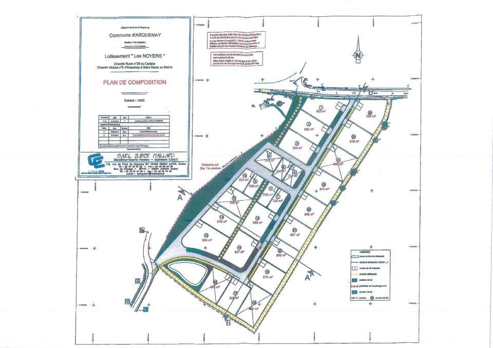 Terrains du constructeur MAISONS FRANCE CONFORT • 569 m² • ARQUENAY