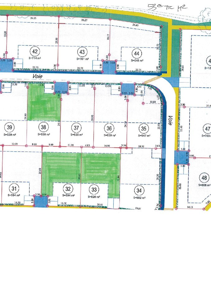 Terrains du constructeur MAISONS FRANCE CONFORT • 633 m² • LA BAZOGE MONTPINCON