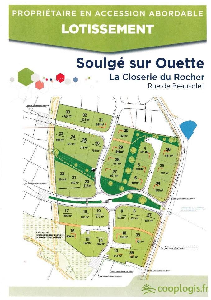 Terrains du constructeur MAISONS FRANCE CONFORT • 718 m² • SOULGE SUR OUETTE