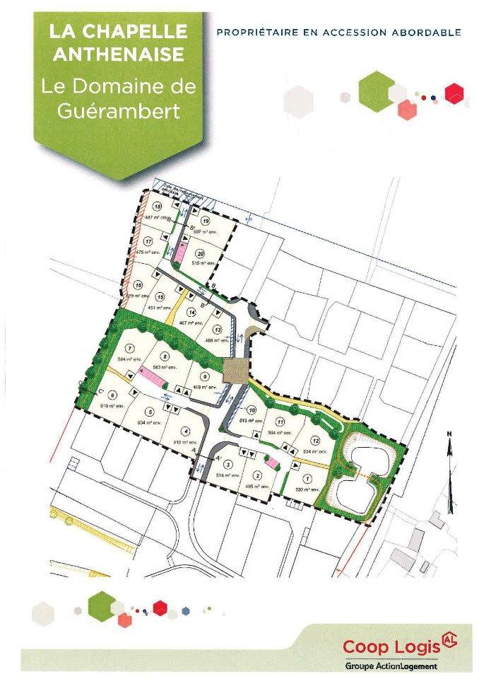 Terrains du constructeur MAISONS FRANCE CONFORT • 495 m² • LA CHAPELLE ANTHENAISE