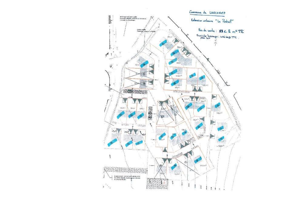 Terrains du constructeur MAISONS FRANCE CONFORT • 405 m² • LARCHAMP