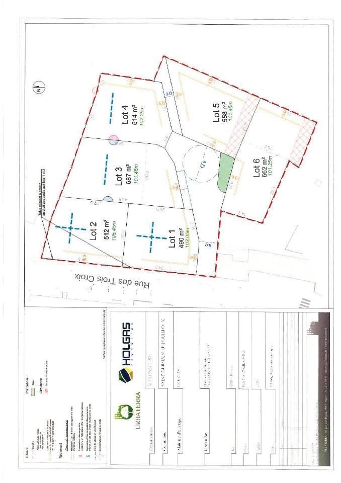 Terrains du constructeur MAISONS FRANCE CONFORT • 512 m² • SAINT GERMAIN LE FOUILLOUX