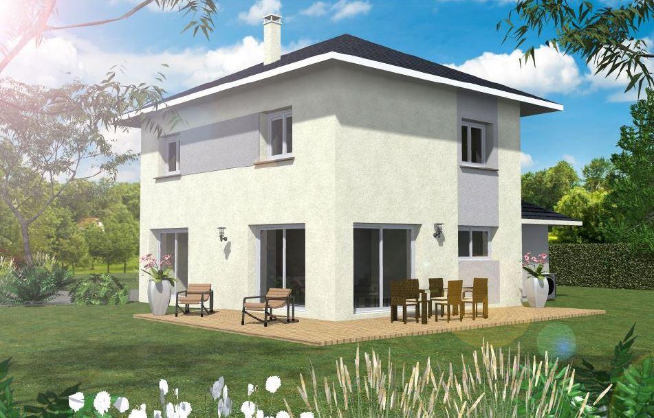 Maisons du constructeur CONSTRUCTEURS DES ALPES • 90 m² • ANTHY SUR LEMAN