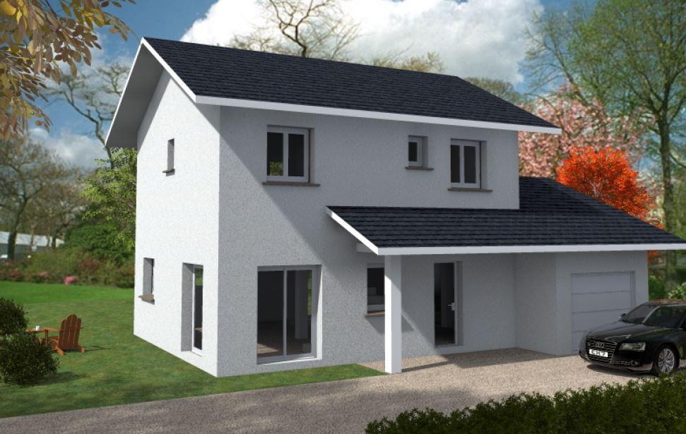 Maisons du constructeur CONSTRUCTEURS DES ALPES • 93 m² • LUGRIN