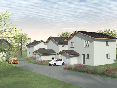 Maisons du constructeur CONSTRUCTEURS DES ALPES • 90 m² • LOISIN