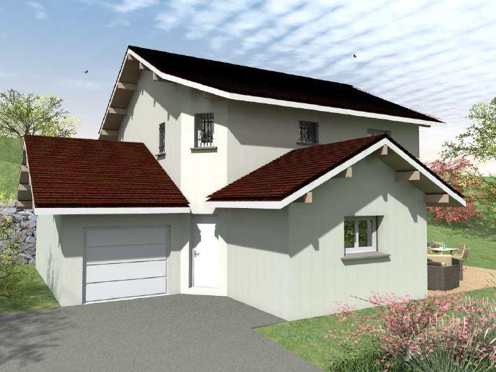 Maisons du constructeur CONSTRUCTEURS DES ALPES • 96 m² • FESSY