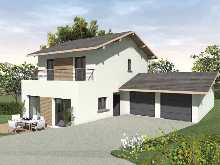 Maisons du constructeur CONSTRUCTEURS DES ALPES • 105 m² • YVOIRE