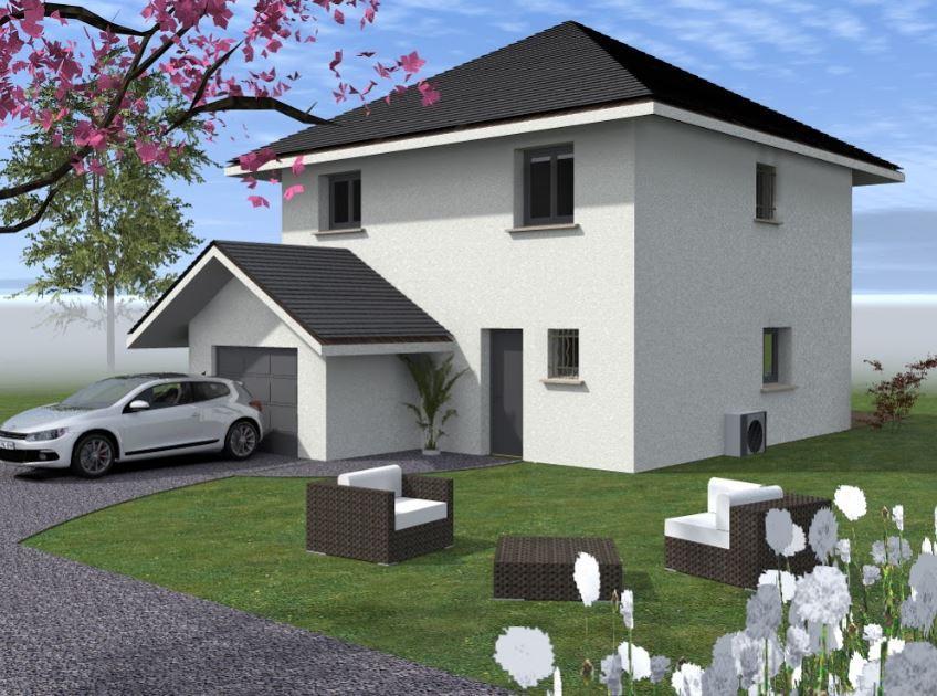 Maisons du constructeur CONSTRUCTEURS DES ALPES • 90 m² • DOUVAINE