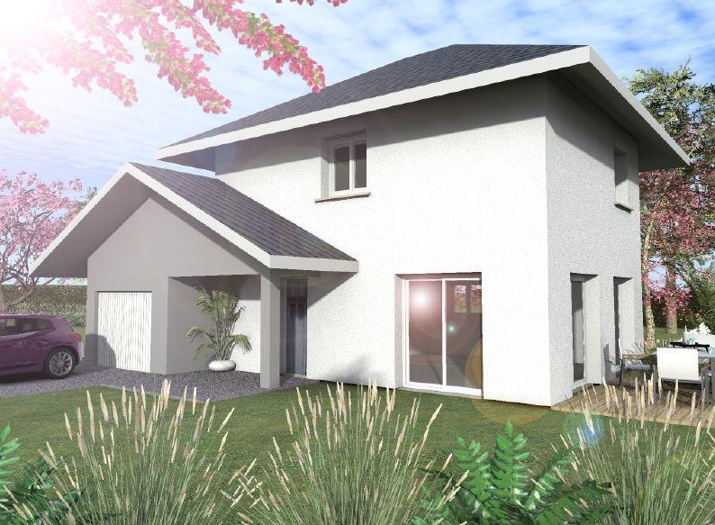 Maisons du constructeur CONSTRUCTEURS DES ALPES • 90 m² • DRAILLANT