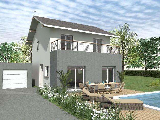 Maisons du constructeur CONSTRUCTEURS DES ALPES • 101 m² • YVOIRE