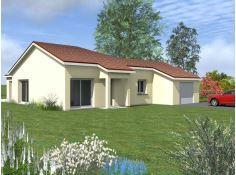 Maisons du constructeur CONSTRUCTEURS DES ALPES • 120 m² • VALLIERES