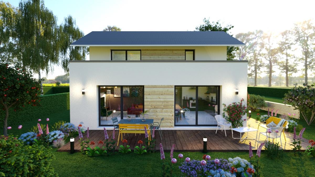 Maisons du constructeur CONSTRUCTEURS DES ALPES • 110 m² • ANNECY