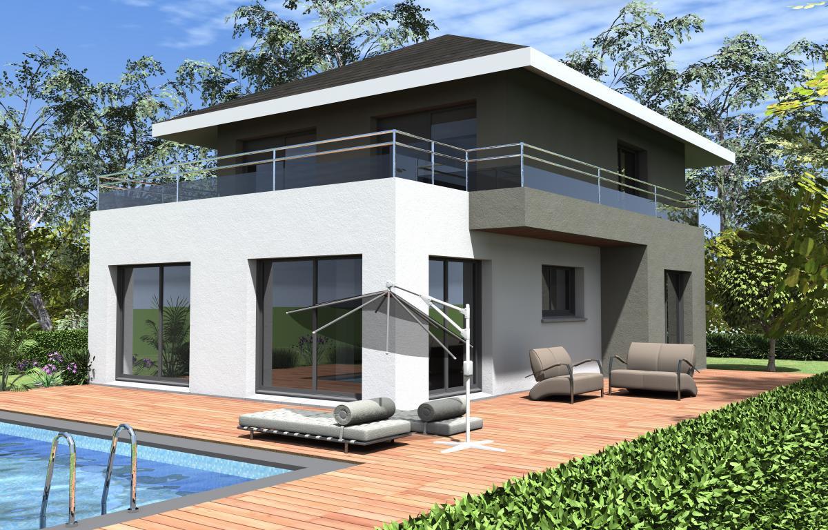 Maisons du constructeur CONSTRUCTEURS DES ALPES • 120 m² • POISY