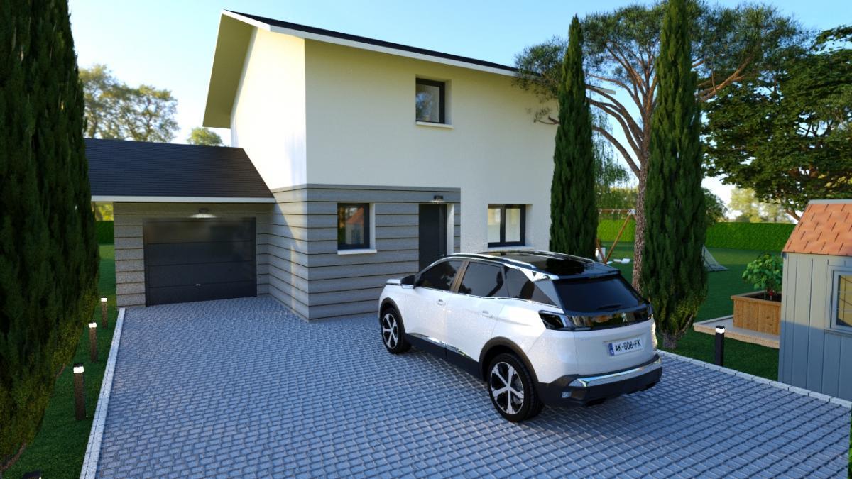 Maisons du constructeur CONSTRUCTEURS DES ALPES • 90 m² • SALES