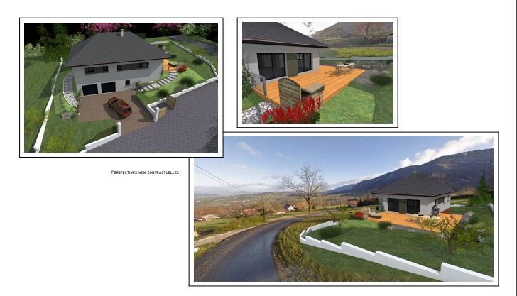 Maisons du constructeur CONSTRUCTEURS DES ALPES • 120 m² • CUSY