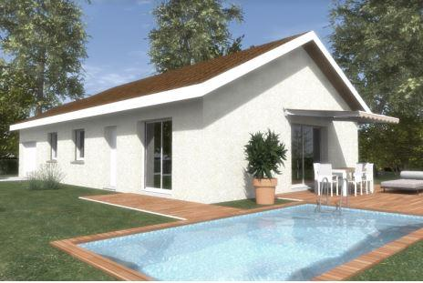 Maisons du constructeur CONSTRUCTEURS DES ALPES • 90 m² • VALLIERES