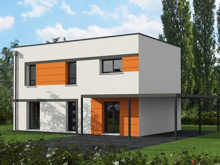 Maisons + Terrains du constructeur Les Maisons Lelievre • 130 m² • LE MANS