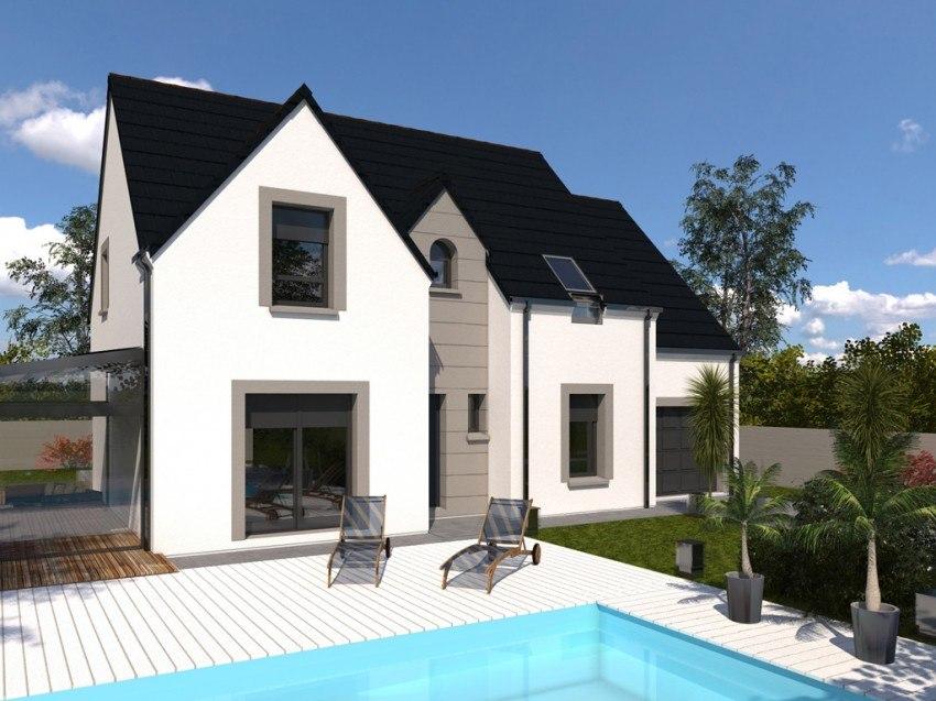 Maisons + Terrains du constructeur Les Maisons Lelievre • 124 m² • ROUILLON