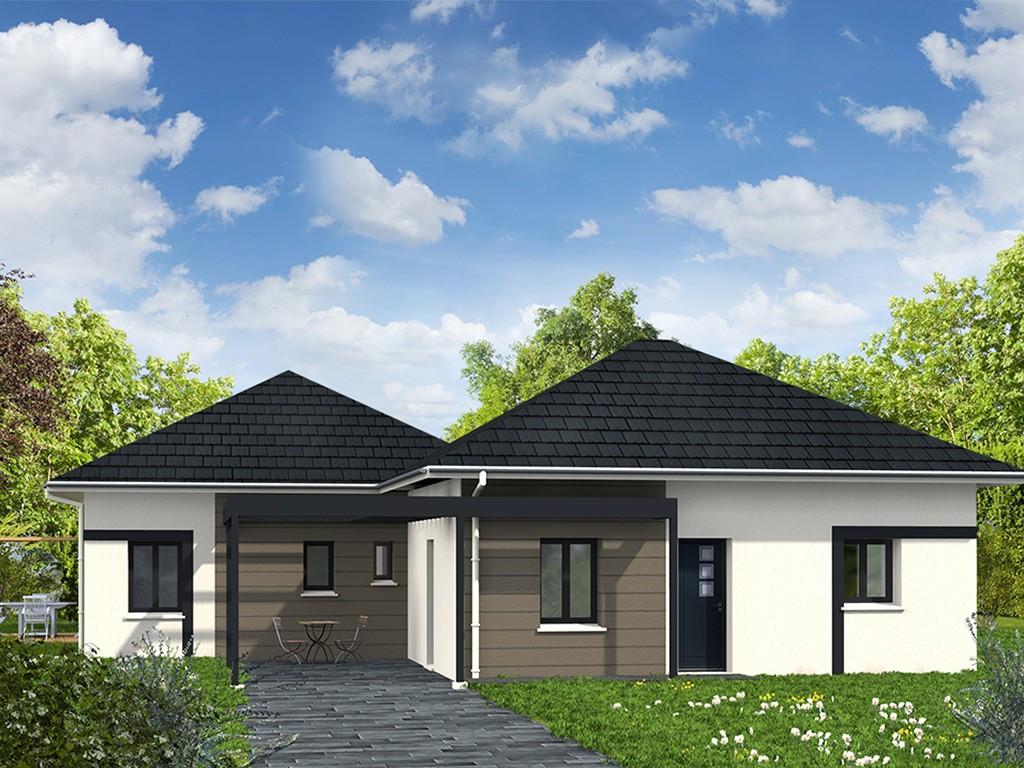 Maisons + Terrains du constructeur Les Maisons Lelievre • 127 m² • MONCE EN BELIN