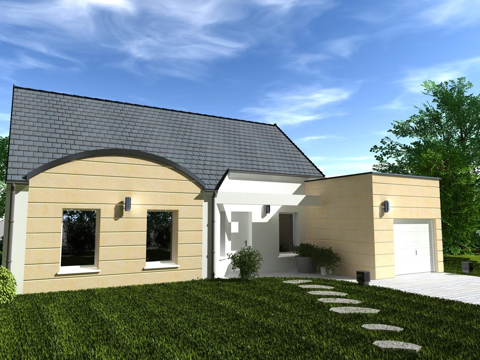 Maisons + Terrains du constructeur Les Maisons Lelievre • 97 m² • ECOMMOY