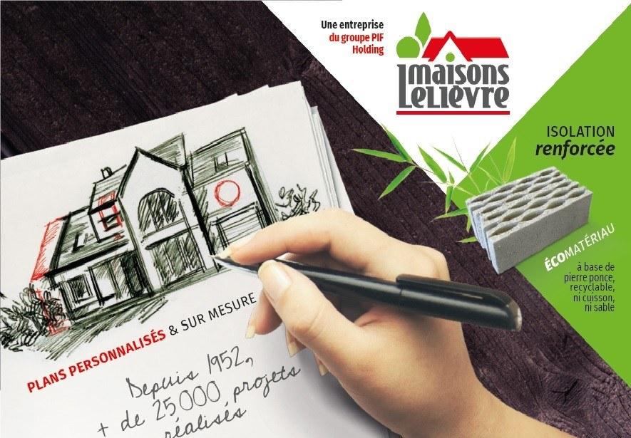Maisons + Terrains du constructeur Les Maisons Lelievre • 138 m² • CHANGE