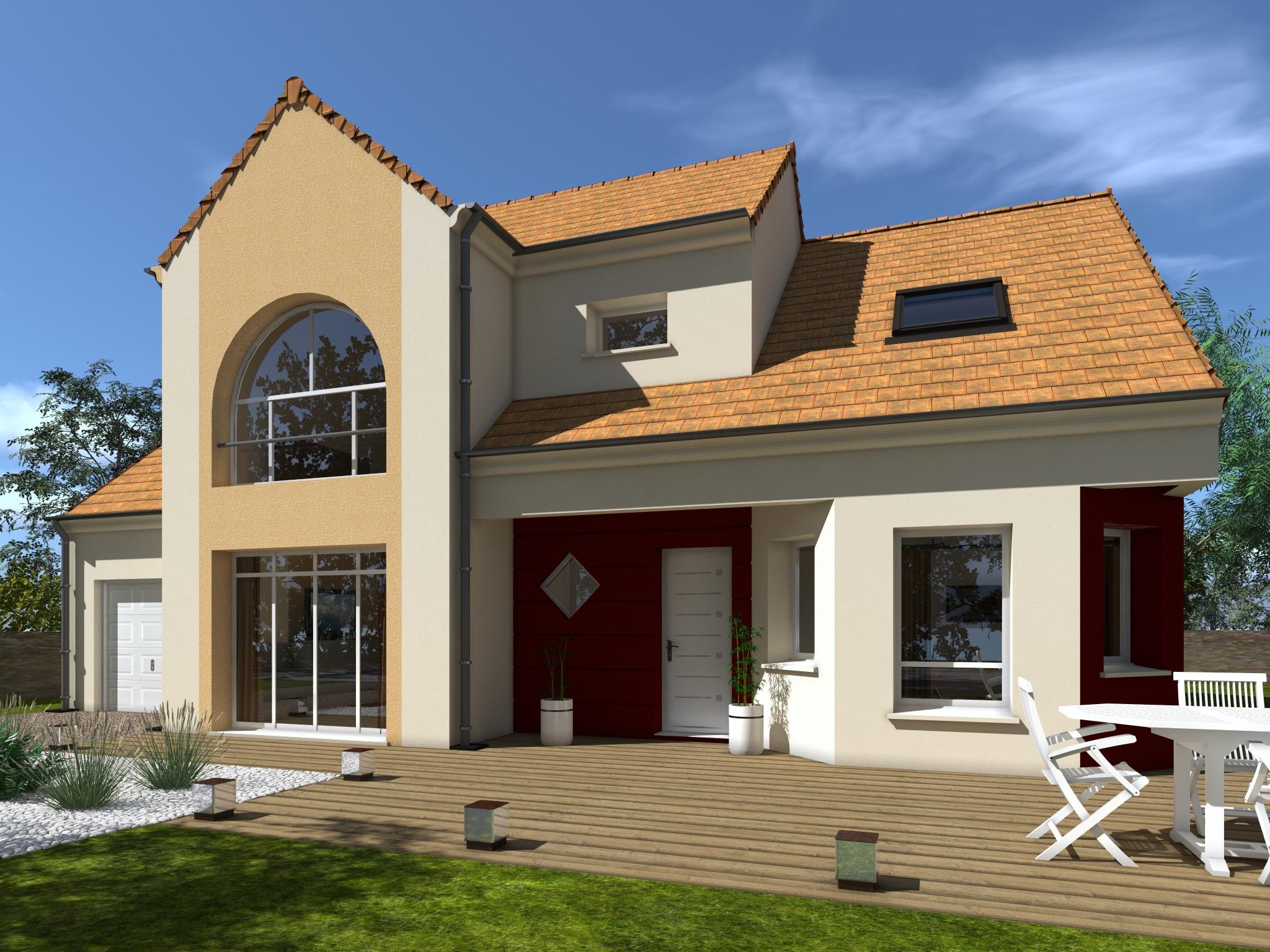 Maisons + Terrains du constructeur Les Maisons Lelievre • 134 m² • LE MANS