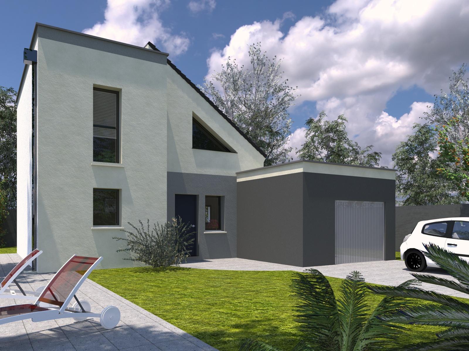 Maisons + Terrains du constructeur Les Maisons Lelievre • 99 m² • LE MANS