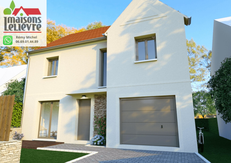 Maisons + Terrains du constructeur Les maisons Lelievre • 115 m² • LE PERRAY EN YVELINES