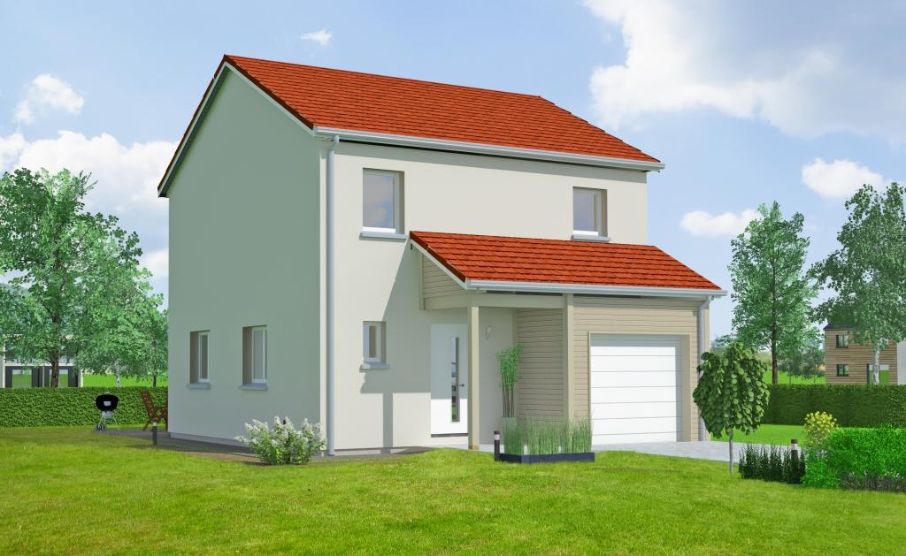 Maisons du constructeur MAISONS OXEO • 95 m² • NOMENY
