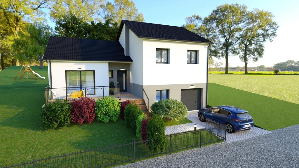 Maisons du constructeur MAISONS OXEO • 130 m² • MILLERY