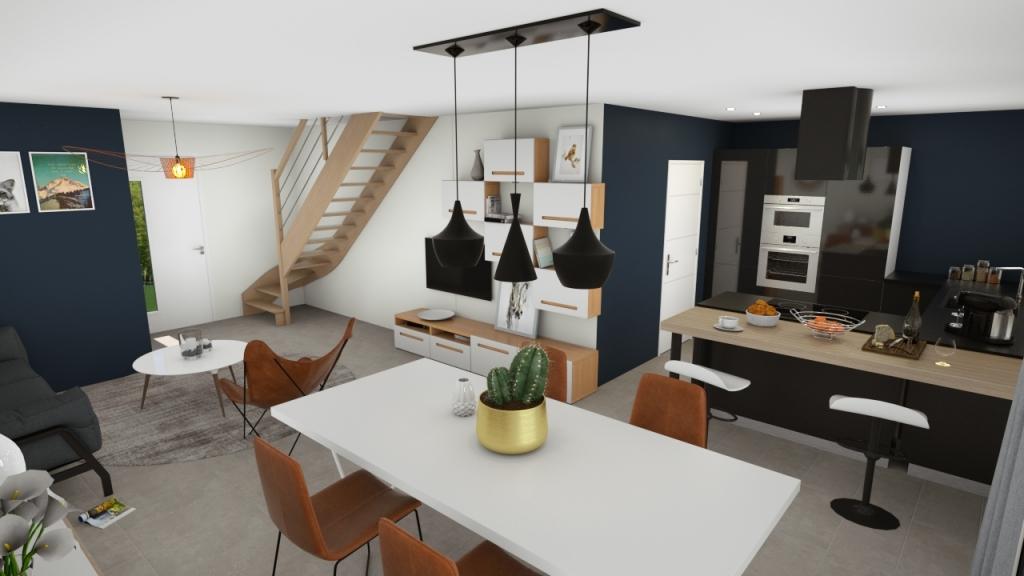 Maisons du constructeur MAISONS OXEO • 95 m² • DAMELEVIERES