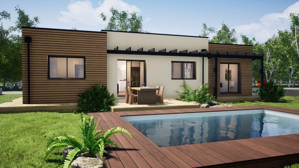 Maisons du constructeur MAISONS BAC PREMIUM • 116 m² • SAINT DENIS DE L'HOTEL