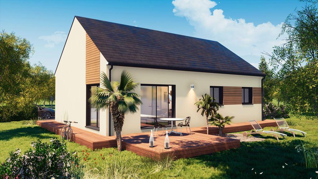 Maisons du constructeur MAISONS BAC PREMIUM • 86 m² • SAINT DENIS DE L'HOTEL