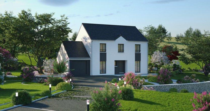 Maisons du constructeur Maisons Pierre VILLENEUVE D ASCQ • 152 m² • MONCHEAUX