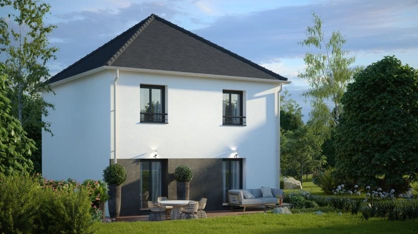 Maisons du constructeur Maisons Pierre VILLENEUVE D ASCQ • 96 m² • MERVILLE
