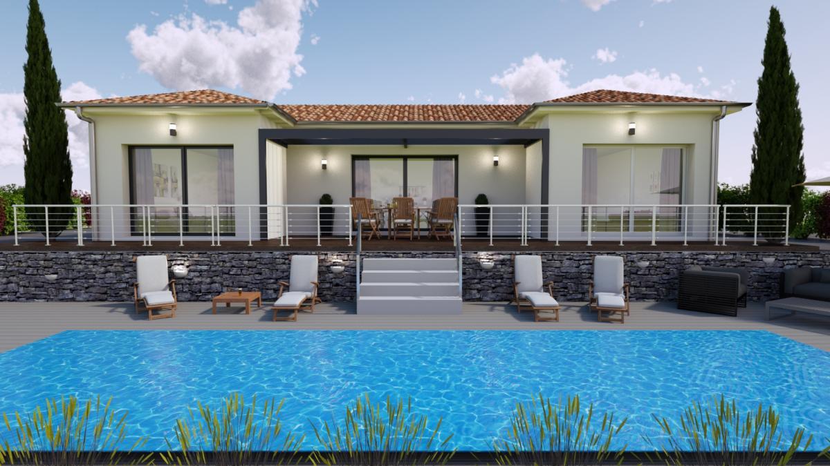 Maisons du constructeur TRADITION LOGIS • 100 m² • GRIGNAN
