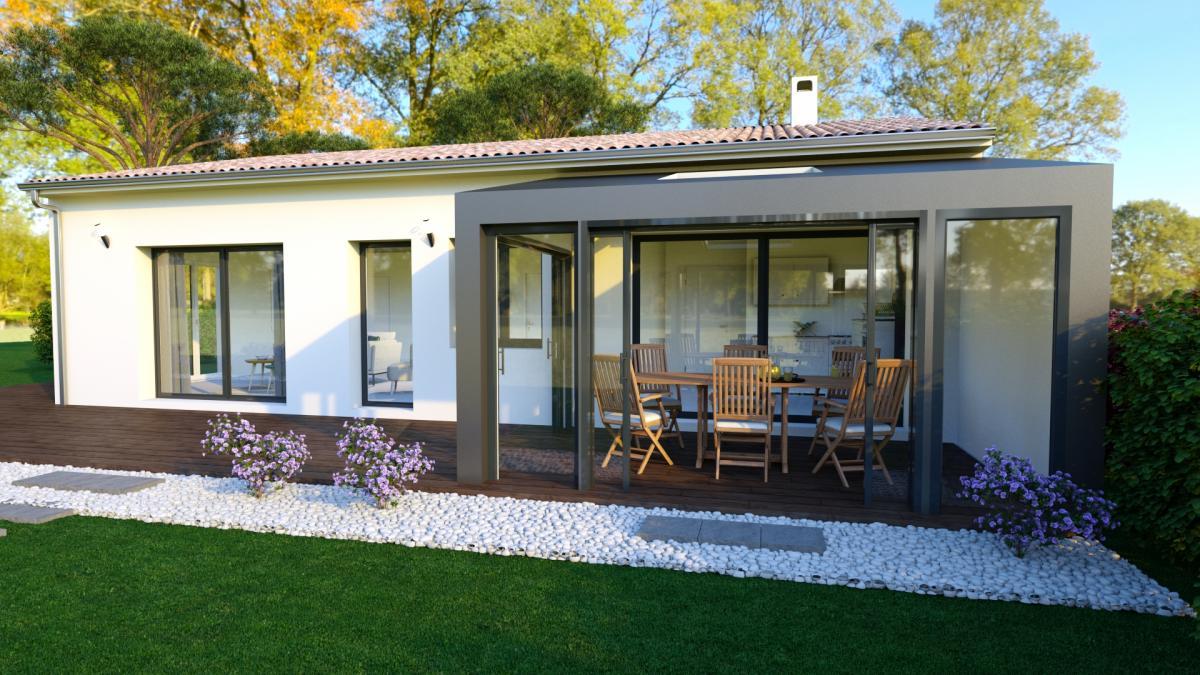 Maisons du constructeur TRADITION LOGIS • 91 m² • DONZERE