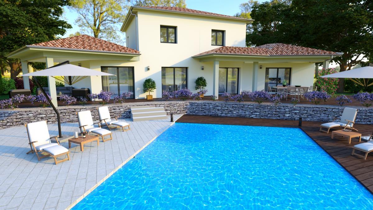 Maisons du constructeur TRADITION LOGIS • 140 m² • CREST