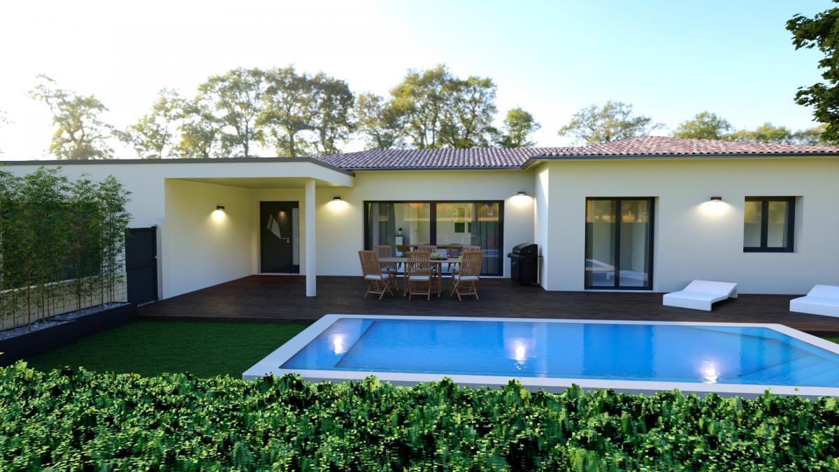 Maisons du constructeur TRADITION LOGIS • 110 m² • VALAURIE