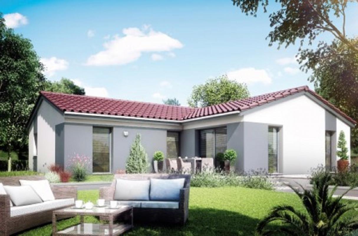 Maisons + Terrains du constructeur MAISONS LIBERTE - BOURG LES VALENCE • 97 m² • CHATEAUNEUF DE GALAURE