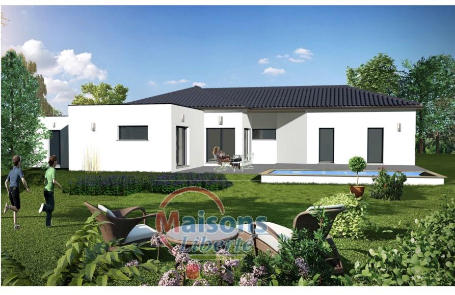 Terrains du constructeur MAISONS LIBERTE - BOURG LES VALENCE • 687 m² • SAINT VALLIER