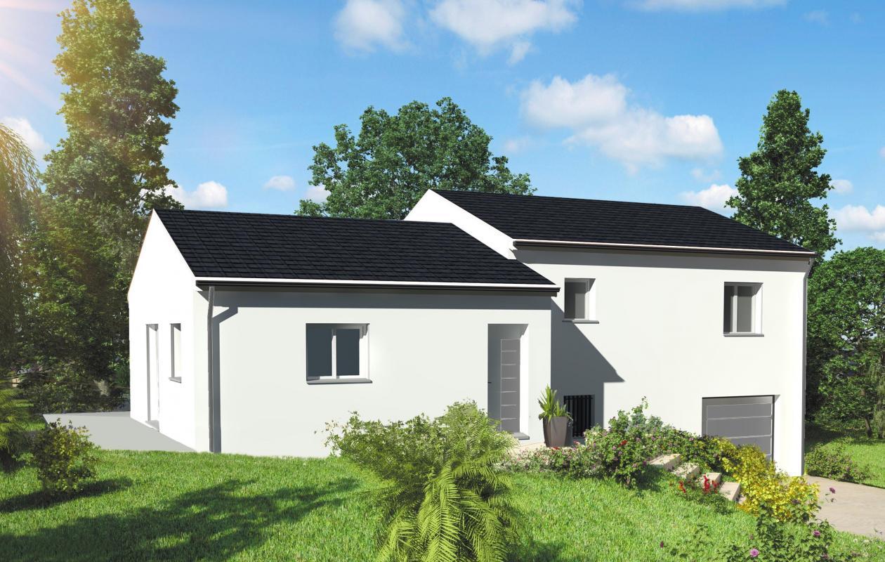 Maisons + Terrains du constructeur MAISONS LIBERTE - BOURG LES VALENCE • CHATUZANGE LE GOUBET